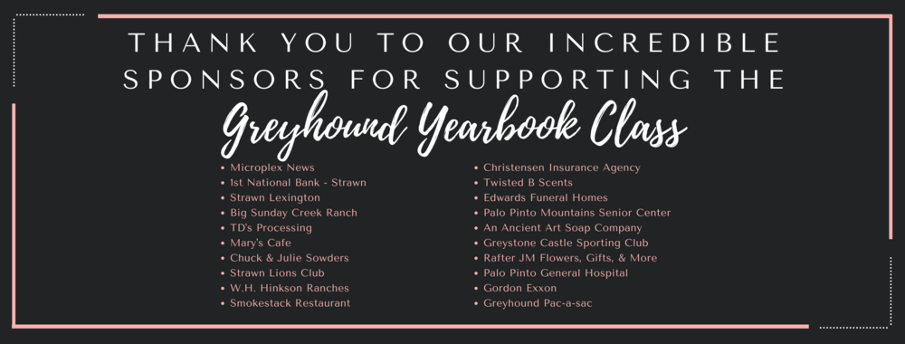 The Greyhound Yearbook Class Met Their Goal!