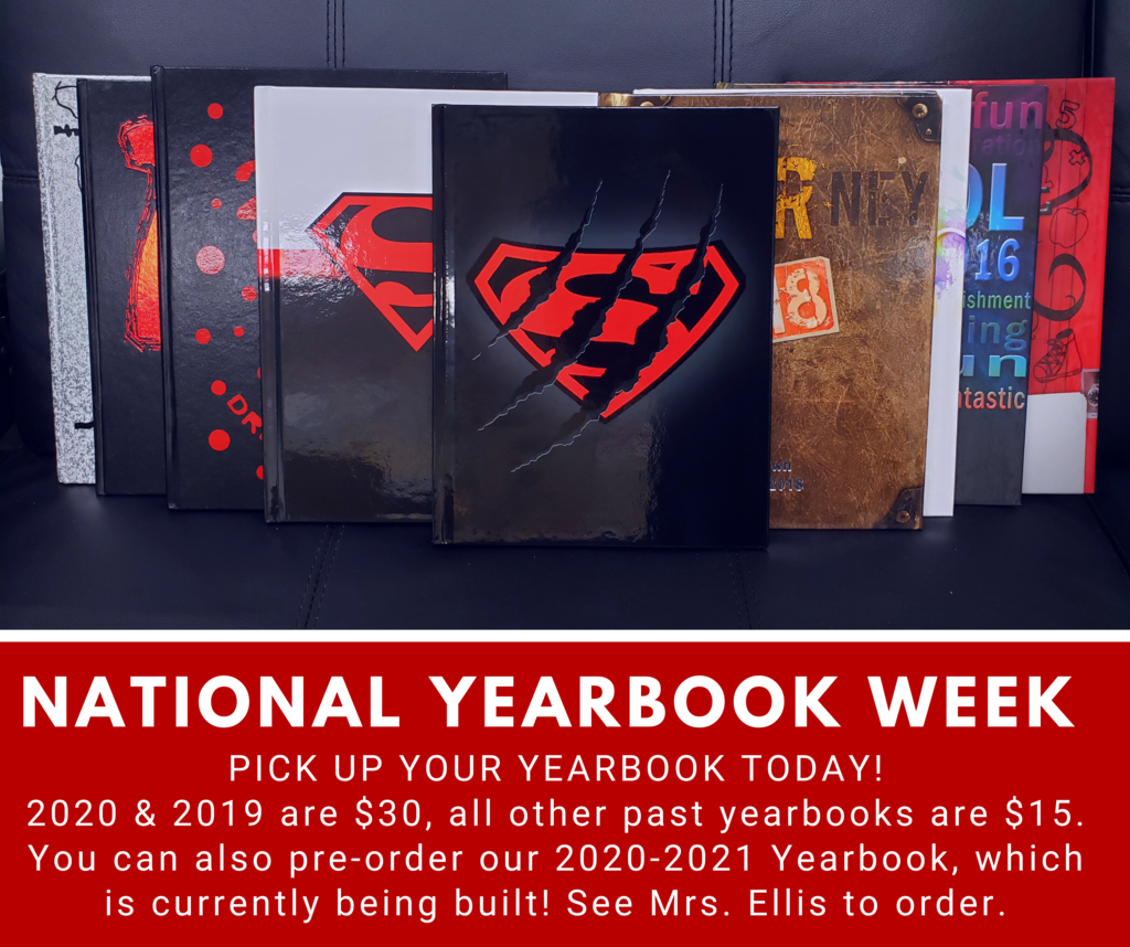 National Yearbook Week! Inventory