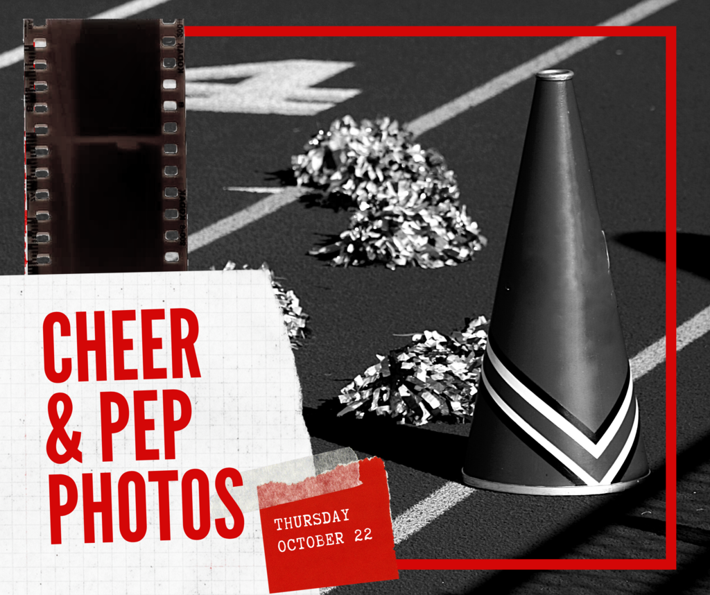 Cheer Photos are Thursday!