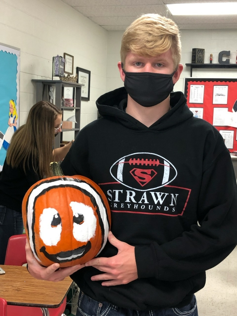kyler and his pumpkin