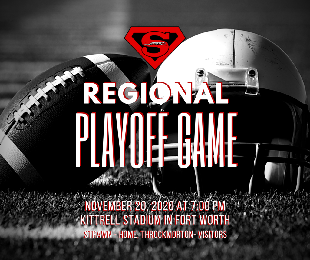 Regional Football Championship Game Friday, Nov. 20