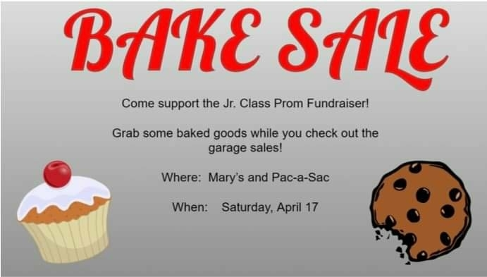 bake sale for prom