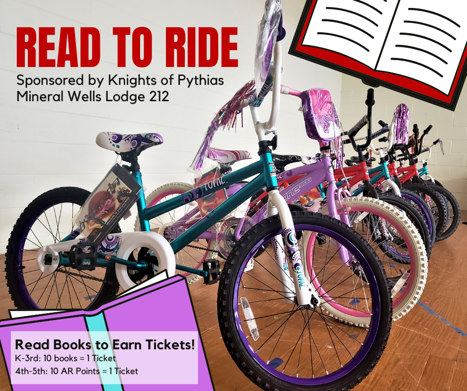 Bicycles for the Read to Ride Program