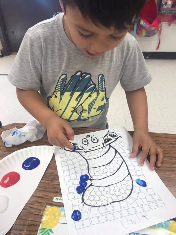 Alan paints The Cat in the Hat!