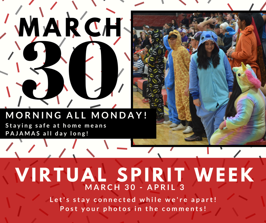 Virtual Spirit Week: Morning All Monday