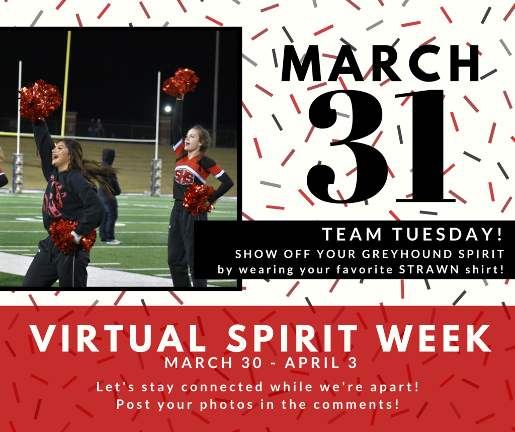 Virtual Spirit Week: Team Tuesday