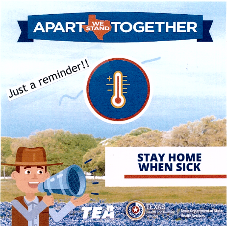 Remember: Stay Home When Sick!