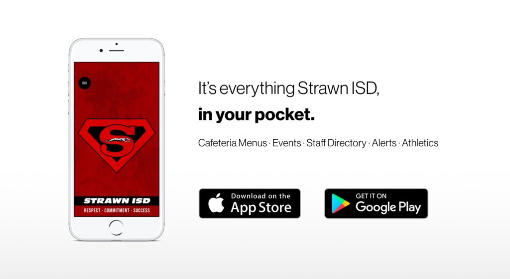 Download the Strawn ISD app from the Apple App Store or Google Play!