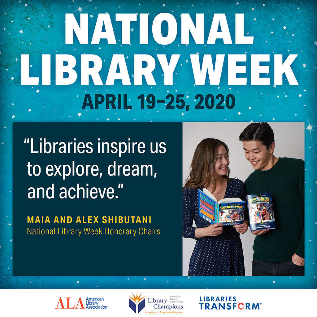 National Library Week: April 19-25