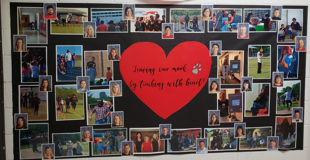 Strawn ISD Staff: Leaving our mark by teaching with heart!