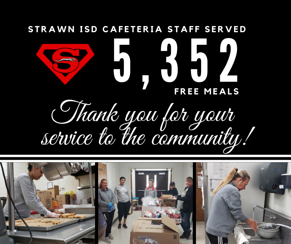 SISD served 5,352 free meals during the preventative closure.