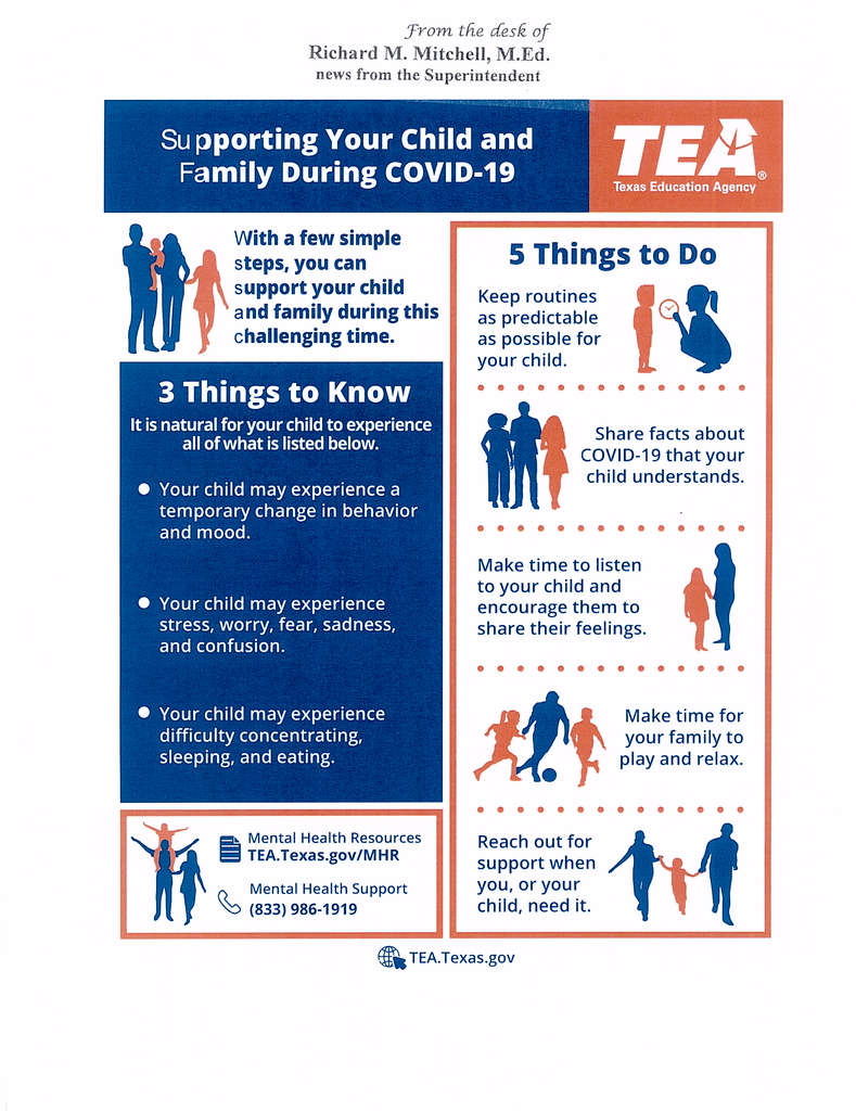 Supporting your child and family during COVID-19