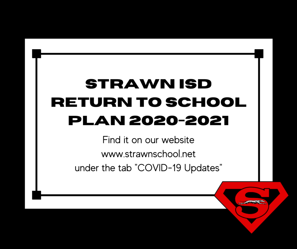 Our Back-to-School Plan can be found on our website!
