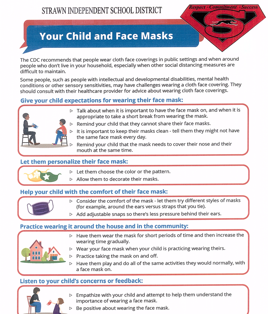 Your Child and Face Masks: Tips to make that transition easier!